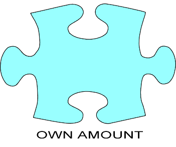 Own Amount - please complete amount below